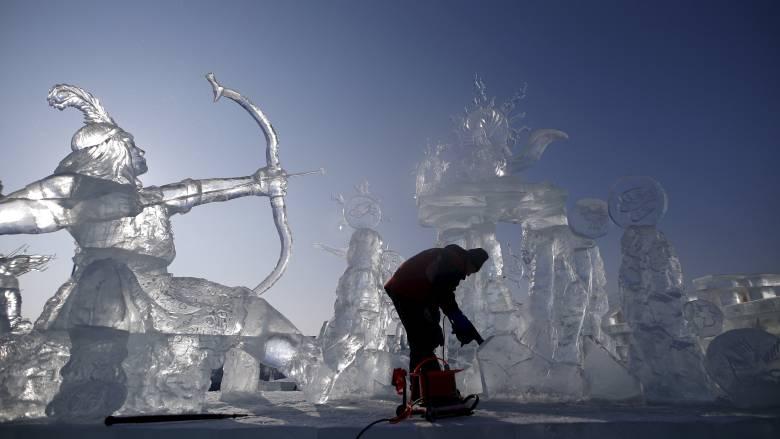 Φεστιβάλ χιονιού στην Κίνα