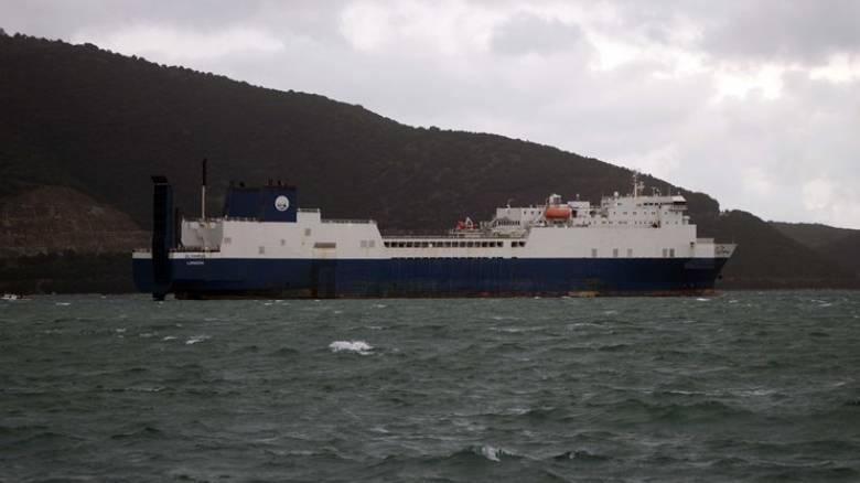 Φορτηγό πλοίο με 13 άτομα πλήρωμα πλέει ακυβέρνητο στο Ακρωτήριο Ταίναρο