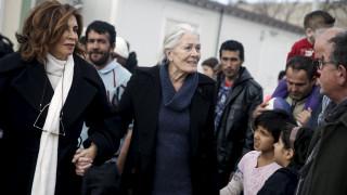 Βανέσα Ρεντγκρέιβ: «Η Ελλάδα δίνει μάθημα ανθρωπιάς»