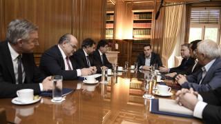 Ασφαλιστικό: Σε καλό κλίμα η συνάντηση Τσίπρα-εργοδοτών