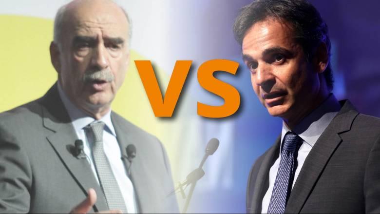 Αποτελέσματα εκλογών ΝΔ: Μεϊμαράκης, Μητσοτάκης αμφότεροι «νικητές»