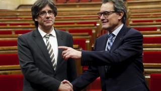 Υπόσχεση για ανεξαρτησία από τον νέο πρόεδρο της Καταλονίας