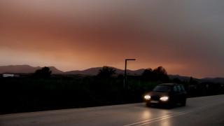 Σκόνη από την Αφρική και νεφώσεις τα κύρια χαρακτηριστικά του καιρού