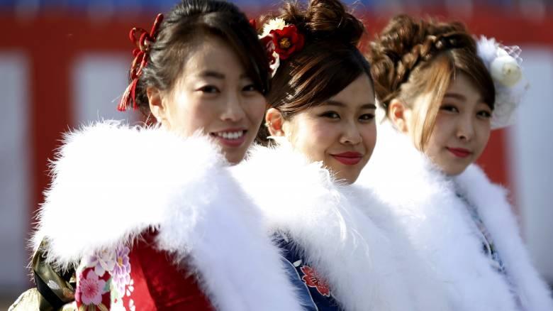 Ο εορτασμός της ενηλικίωσης στην Ιαπωνία