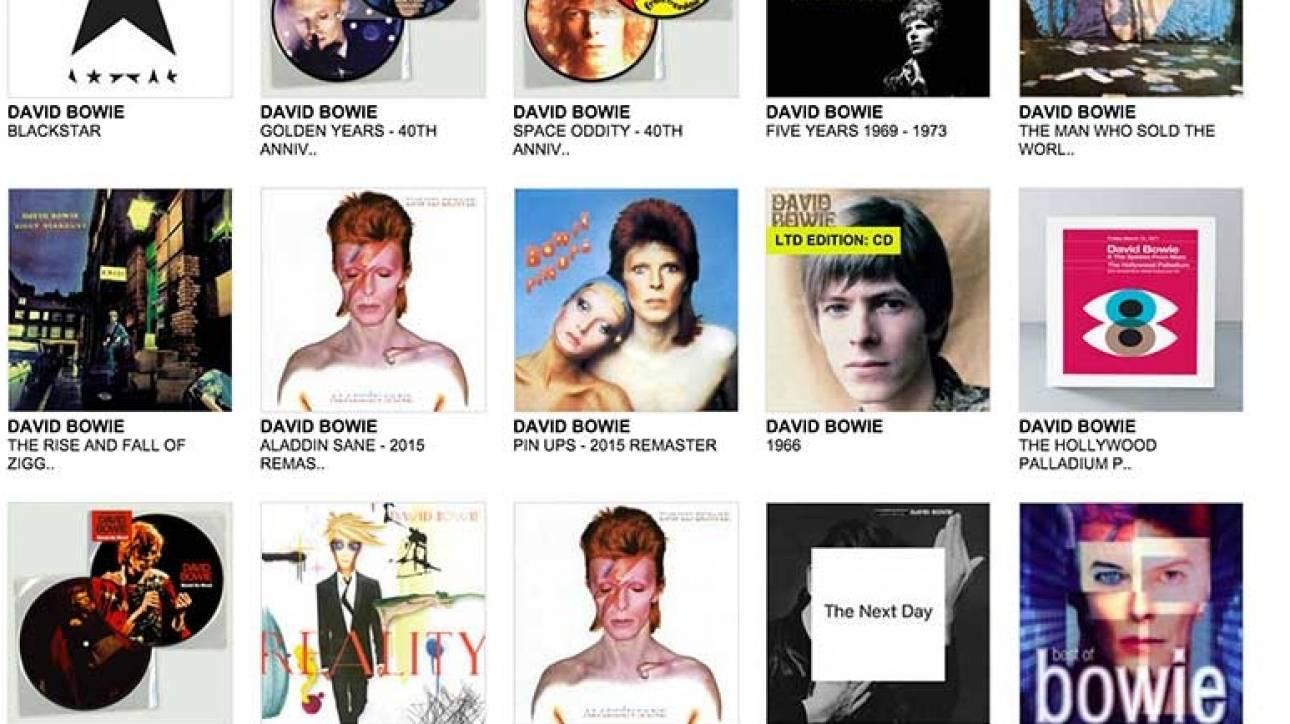 Τα έσοδα του Ντέιβιντ Μπάουϊ στην έρευνα κατά του καρκίνου από τη Rough Trade
