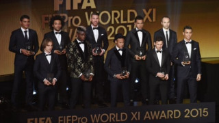 Ισοπαλία Μπαρτσελόνα-Ρεάλ στην καλύτερη 11άδα στον διαγωνισμό της Χρυσής Μπάλας