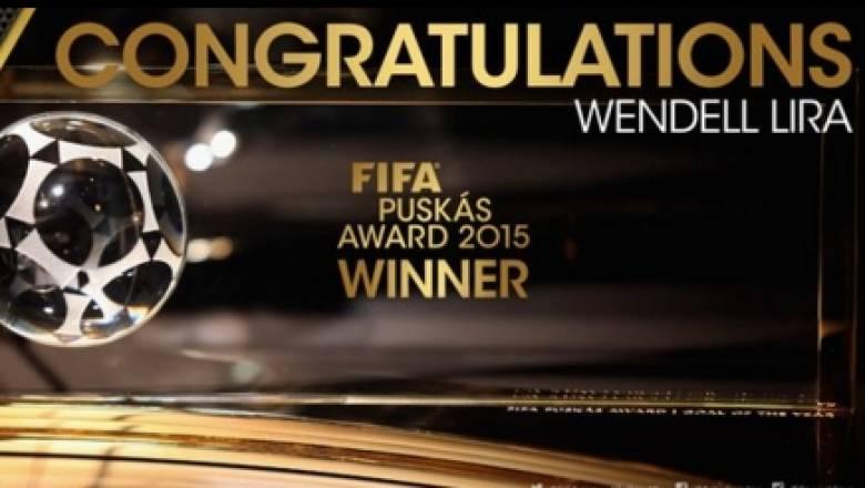 Στον Βραζιλιάνο Λίρα το βραβείο Πούσκας για το καλύτερο γκολ της χρονιάς