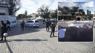 Έκρηξη στην Κωνσταντινούπολη με νεκρούς και τραυματίες-φωτιά σε ξενοδοχείο με εγκλωβισμένους