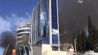 Κωνσταντινούπολη: Εικόνες από τη φωτιά σε ξενοδοχείο του Μαλτεπέ