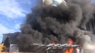 Φωτιά σε ξενοδοχείο στο Μαλτεπέ