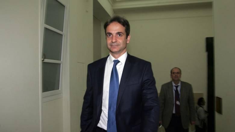 Oλοκληρώθηκε η συνάντηση Κυριάκου Μητσοτάκη- Αντώνη Σαμαρά