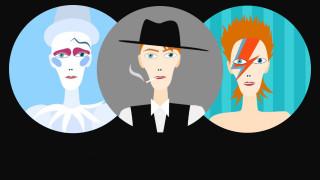 O κόσμος της μόδας αποχαιρετάει τον Ziggy Stardust