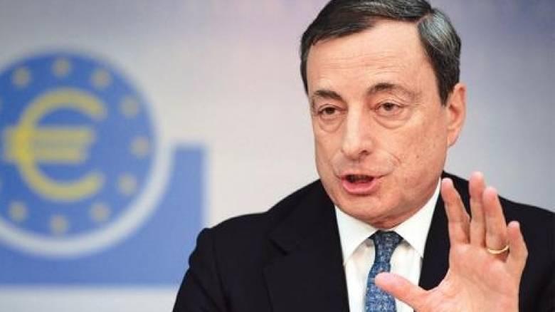 Ντράγκι: Υπό αυστηρές προϋποθέσεις η συμμετοχή της Ελλάδας στην ποσοτική χαλάρωση της ΕΚΤ