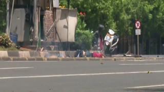 Βίντεο καταγράφει τη στιγμή της έκρηξης στην Τζακάρτα