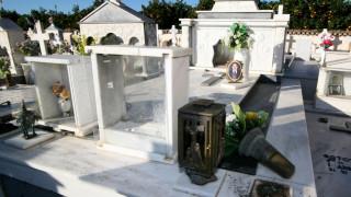 Βανδαλισμοί σε νεκροταφείο και Ιερό Ναό στο Ναύπλιο