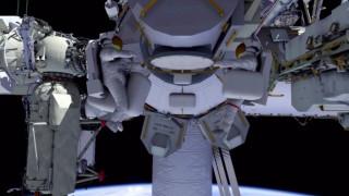 Η πρώτη διαστημική βόλτα της Μ. Βρετανίας