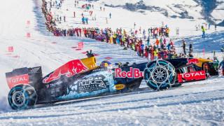 Ο Max Verstappen οδηγεί εντυπωσιακά μονοθέσιο F1 της Red Bull σε πίστα του σκι