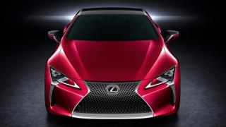 Στο νέο Lexus LC 500 δεν είναι μόνο η μάσκα Diabolo που κλέβει την παράσταση.