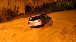 Τραγωδία στις Σέρρες: Αυτοκίνητο παρασύρθηκε από τα νερά του ποταμού