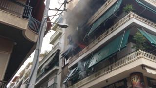 Φωτιά σε διαμέρισμα στο κέντρο του Πειραιά
