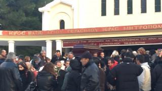 Κηδεία της 37χρονης: Οδυνηρό αντίο στην Ανθή Λινάρδου