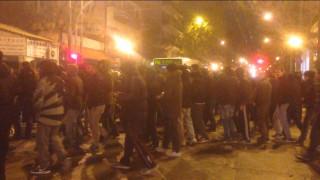 Διαμαρτυρία οπαδών του Παναθηναϊκού στα γραφεία του ΣΥΡΙΖΑ -Συνθήματα κατά Κοντονή