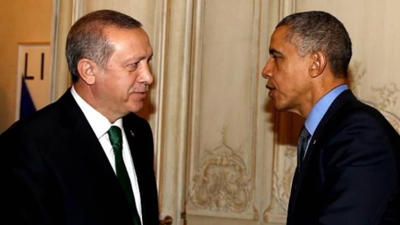 Ομπάμα και Ερντογάν σύμμαχοι στη μάχη κατά του Ισλαμικού Κράτους