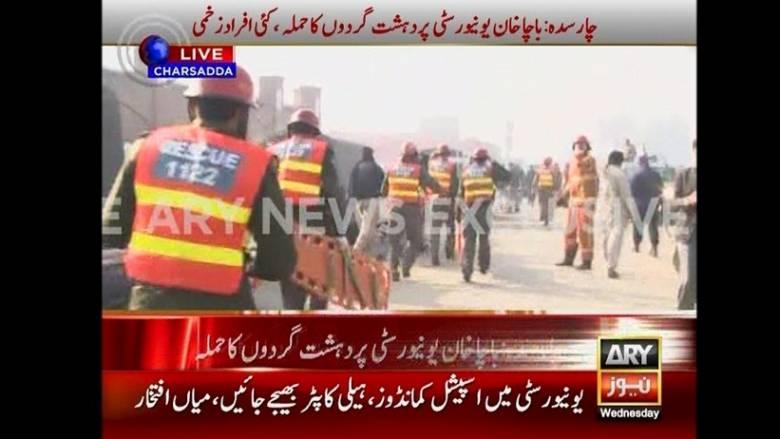 Επίθεση ενόπλων σε πανεπιστημιούπολη στο Πακιστάν