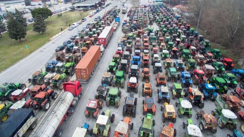 Αγροτικές κινητοποιήσεις κατά του Ασφαλιστικού σε όλη τη χώρα