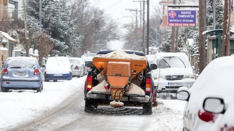 Πολικές θερμοκρασίες και χιόνια τις επόμενες ημέρες