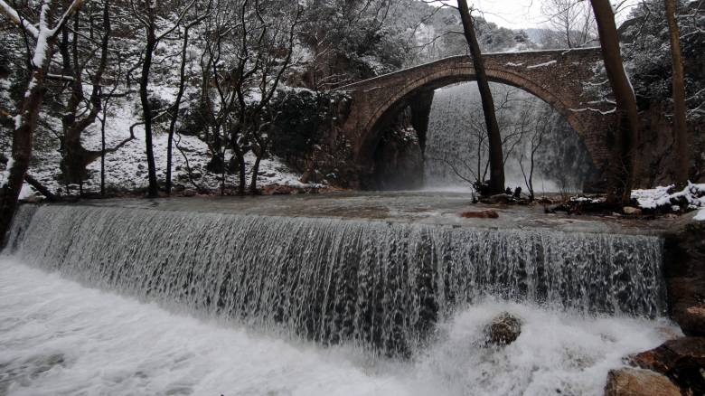 Χειμώνας στα Τρίκαλα