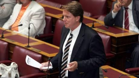 Παραιτήθηκε από τη θέση του στη Νέα Δημοκρατία ο Νίκος Γεωργιάδης