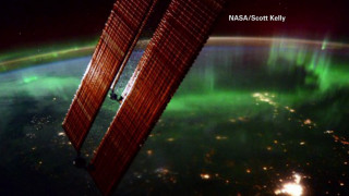 Μαγευτικό Βόρειο Σέλας από το διάστημα