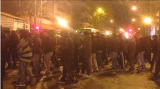 Διαμαρτυρία κατά Κοντονή από οπαδούς του ΠΑΟ σε Χίλτον και γραφεία ΣΥΡΙΖΑ
