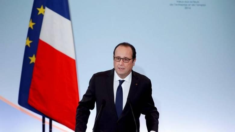 Γαλλία: Κατάσταση εκτάκτου ανάγκης μέχρι τέλη Μαΐου προσδοκά ο Ολάντ