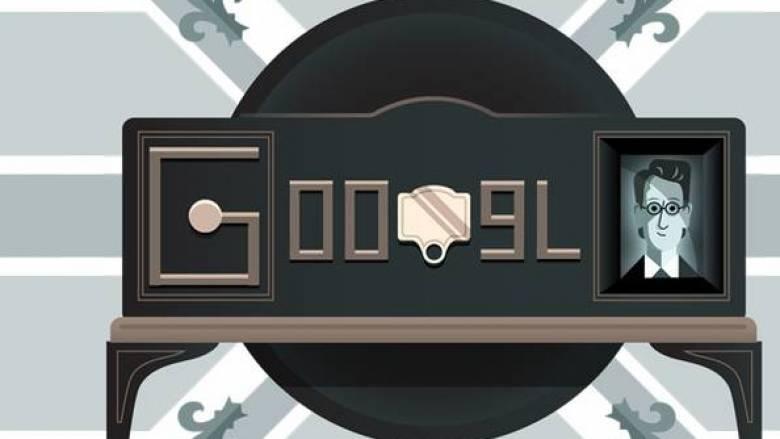 Το doodle της Goodle για τα 90 χρόνια από την πρώτη επίδειξη της τηλεόρασης