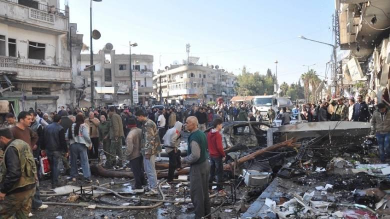 Διπλή βομβιστική επίθεση στη Χομς της Συρίας