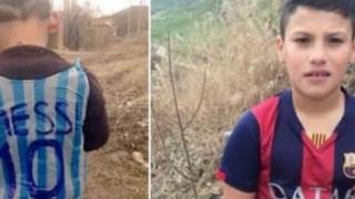 Στο Αφγανιστάν είναι ο αληθινός μικρός θαυμαστής του Μέσι με την φανέλα από σακούλα