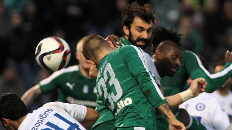 Παναθηναϊκός και Ατρόμητος χωρίς γκολ στον πρώτο προημιτελικό του Κυπέλλου