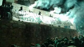 Στο σπίτι του πρωθυπουργού συγκεντρώθηκαν οπαδοί του Παναθηναϊκού