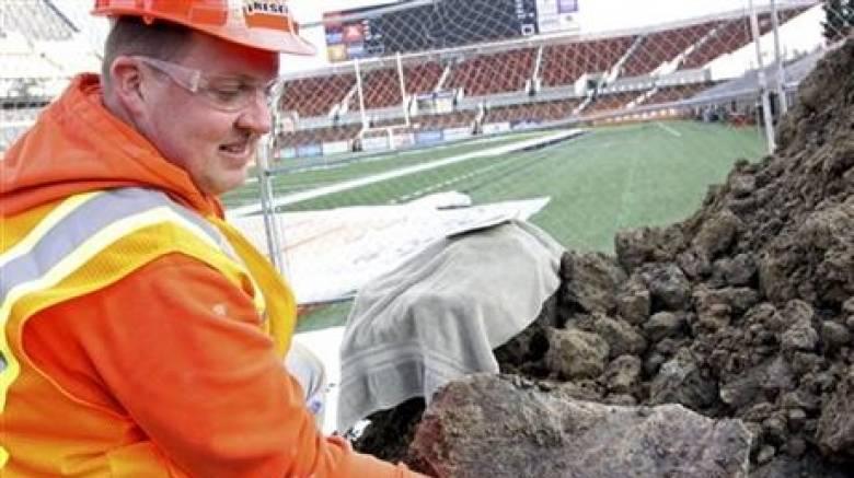 HΠΑ: Bρήκαν οστά μαμούθ σε γήπεδο ράγκμπι