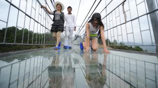 Η γυάλινη γέφυρα στην Κίνα