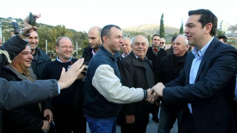 Δράσεις κοινωνικής αλληλεγγύης για το Πέραμα ανακοίνωσε ο Αλέξης Τσίπρας