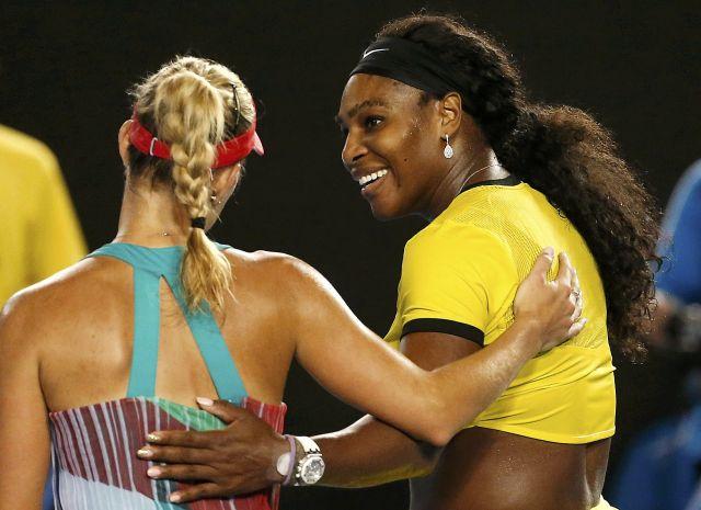 Kerber vs Williams, Aus OPEN