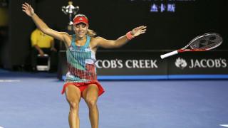 Η Κέρμπερ έκανε την έκπληξη κερδίζοντας την Σερένα Γουίλιαμς στον τελικό του Aus OPEN