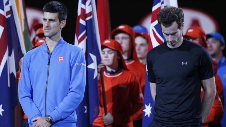 Μεγάλος τελικός του Τζόκοβιτς με τον Μάρεϊ στο Αυστραλιανό OPEN