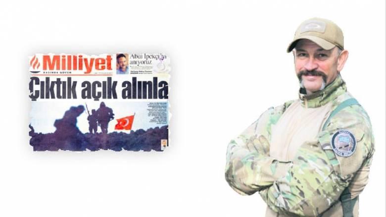 Αποκαλύψεις Τούρκου συνταγματάρχη για τα Ίμια σε εφημερίδα
