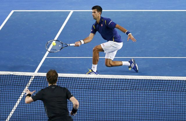 Djokovic-Murray Aus Open Final 2016