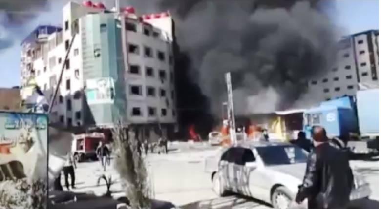 Το σοκαριστικό βίντεο από το μακελειό στη Δαμασκό