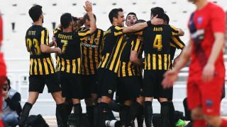 Η ΑΕΚ κέρδισε και την Βέροια 3-0, ενώ ο Αστέρας επιβλήθηκε του Λεβαδειακού
